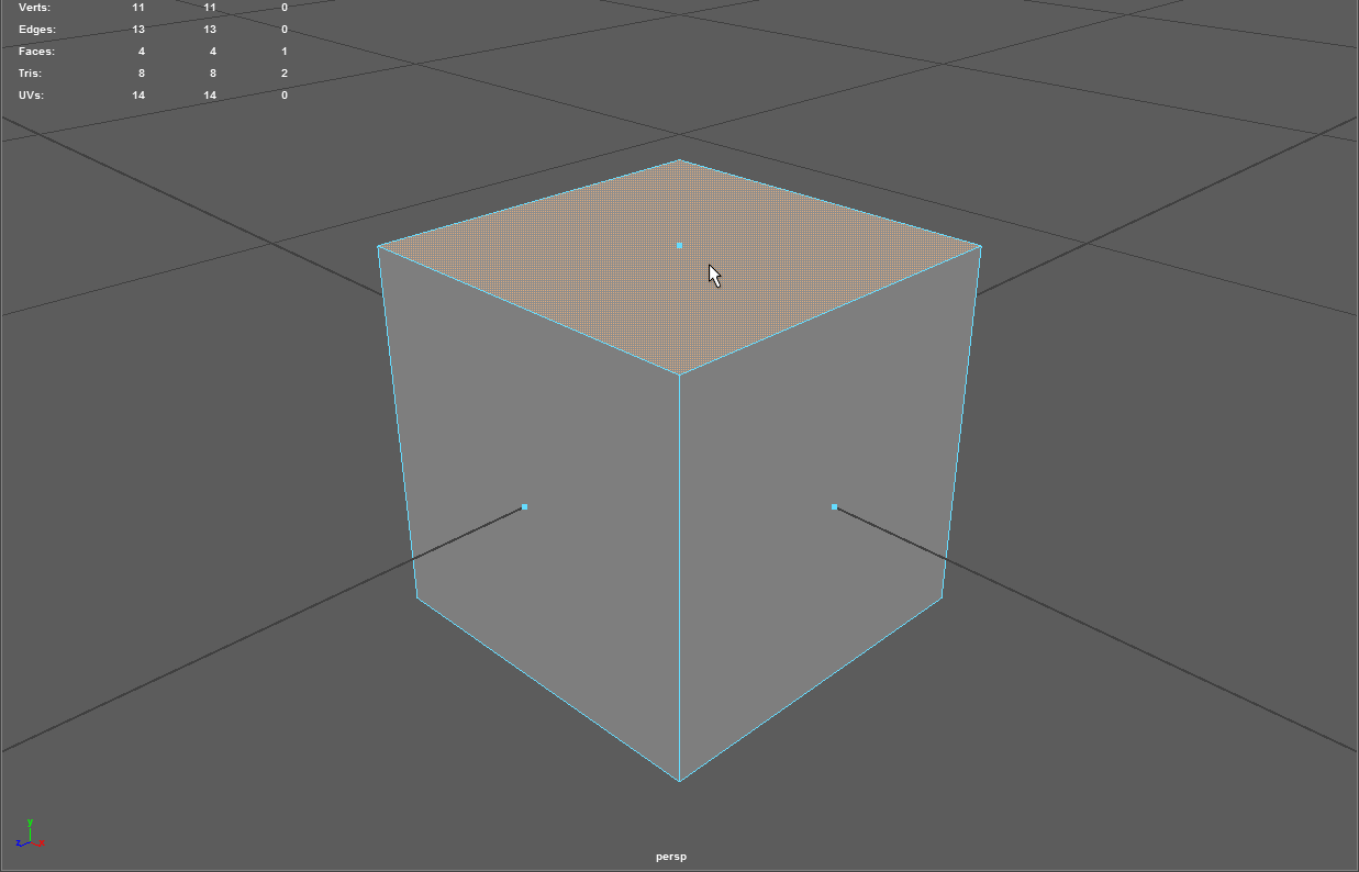 Quick Tip: Polygon Display Face Centers