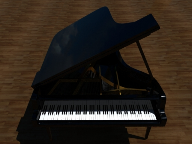 Speedmodelling Challenge 74: Grand Piano