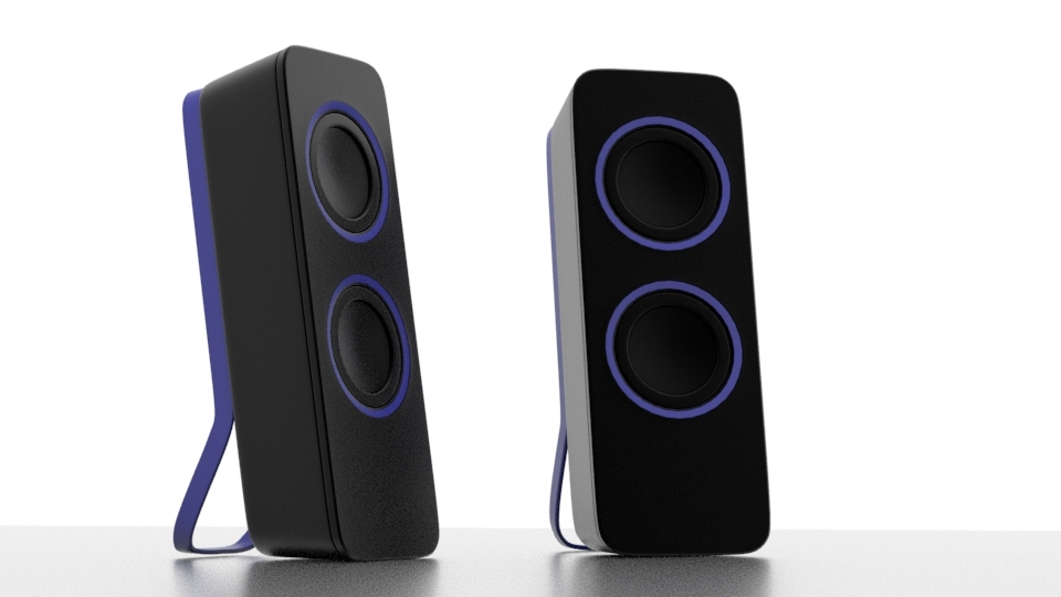 Arch Viz: Speakers cover image