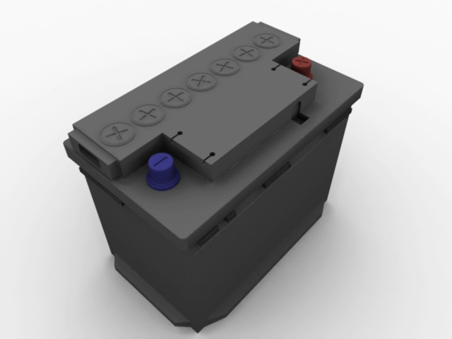 Speedmodelling Challenge 59: Battery cover image